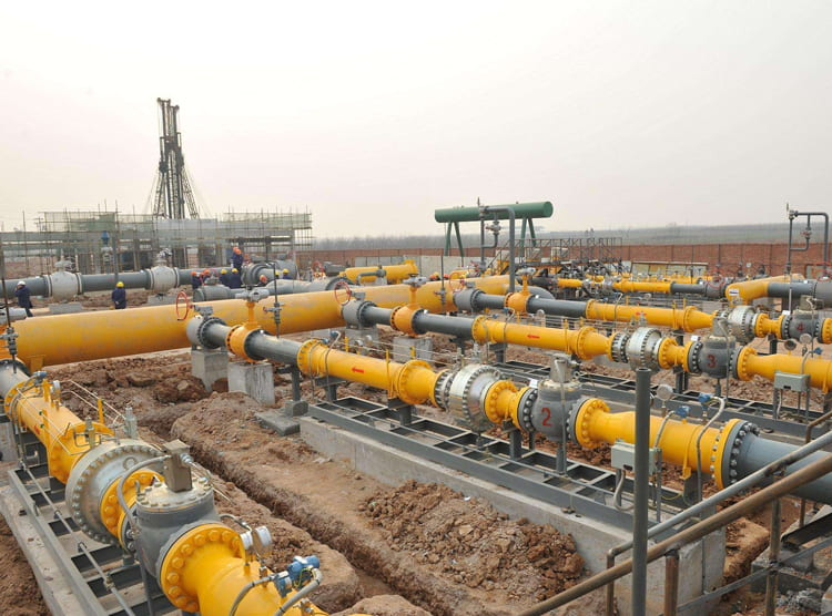 中石化输气管道湖南段地